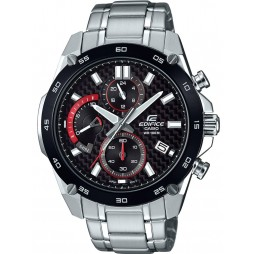 Casio Edifice Classic Chronograph Black Bracelet Watch EFR-557CDB-1AVUEF