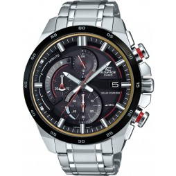 Casio Mens Edifice Black Dial Watch EQS-600DB-1A4UEF