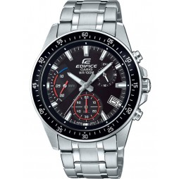 Casio Mens Black Edifice Watch EFV-540D-1AVUEF