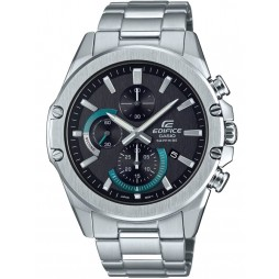 Casio Edifice Classic Chronograph Black Bracelet Watch EFR-S567D-1AVUEF