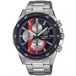 Casio Edifice Limited Edition Torro Rosso Chronograph Blue Bracelet Watch EFR-S567TR-2AER
