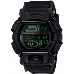 Casio G-Shock Sports Digital Display Chronograph Black Plastic Strap Watch GD-400MB-1ER