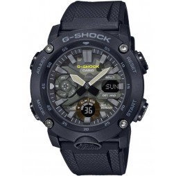 Casio G-Shock Classic Dual Display Chronograph Camouflage Strap Watch GA-2000SU-1AER
