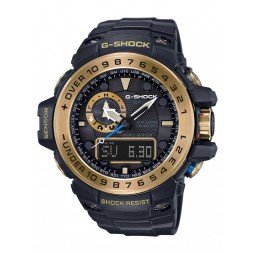 Casio G-Shock Master Of G Sea Gulfmaster Solar Gold Plated Plastic Strap Watch GWN-1000GB-1AER