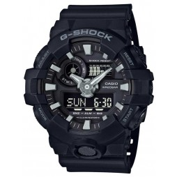 Casio G-Shock Mens Black Strap Watch GA-700-1BER