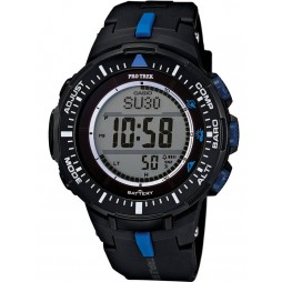 Casio Pro Trek Solar Digital Black Plastic Strap Watch PRG-300-1A2ER