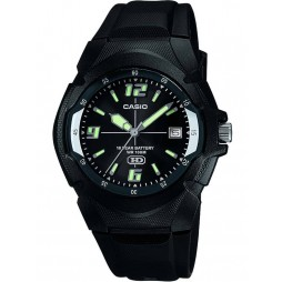 Casio Mens Black Enticer Watch MW-600F-1AVER