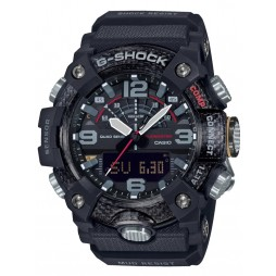 Casio G-Shock Master Of G Mudmaster Carbon Core Guard Dual Display Black Plastic Strap Smartwatch GG-B100-1AER
