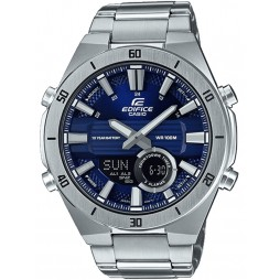 Casio Edifice Dual Display Chronograph Blue Bracelet Watch ERA-110D-2AVEF