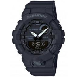 Casio G-Shock Sports Bluetooth Dual Display Chronograph Black Strap Smartwatch GBA-800-1AER