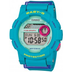 Casio Ladies Baby G Green Digital Watch BGD-180FB-2ER