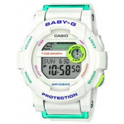 Casio Ladies Baby G White Digital Watch BGD-180FB-7ER