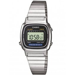 Casio Mens Stainless Steel Digital Watch LA670WEA-1ER