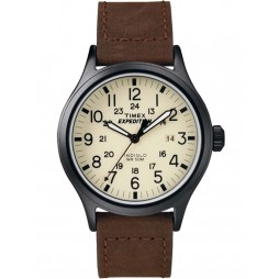 Timex Mens Brown Expedition Scout Watch T49963