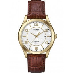 Timex Mens Traditional Strap Watch T2P449
