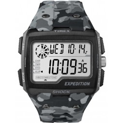 Timex Mens Expedition Grey Camo Watch TW4B03000