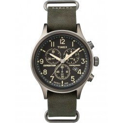 Timex Mens Expedition Chronograph Watch TW4B04100