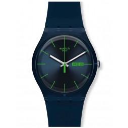 Swatch Mens Blue Rebel Watch SUON700