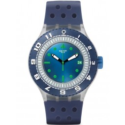 Swatch Mens Scuba-Libre Flow Through Watch SUUK403