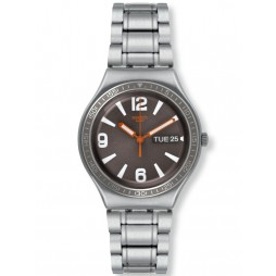 Swatch Mens Irony Big Grandseigneur Bracelet Watch YGS776G