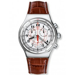 Swatch Mens Chronograph Back To The Roots Watch YVS414