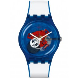 Swatch Clownfish Blue Watch SUON112