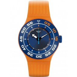 Swatch Mens Serifos Divers Strap Watch SUUO100