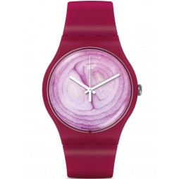 Swatch Unisex Onione Strap Watch SUOP105