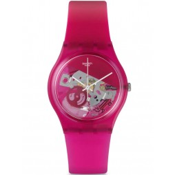 Swatch Unisex Grana-Tech Pink Strap Watch GP146