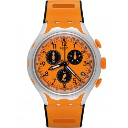 Swatch Mens Caccia Chronograph Strap Watch YYS4010