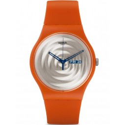 Swatch Unisex Multi Bross Orange Strap Watch SUOO702