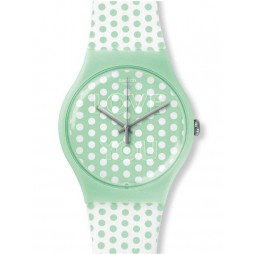 Swatch Unisex Mint Love Watch SUOG108