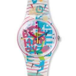 Swatch Unisex Go Happy Watch SUOZ196