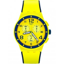 Swatch Mens Solleore Strap Watch SUSJ401