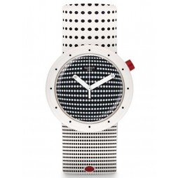 Swatch Dotypop Reversible Strap Watch PNW104