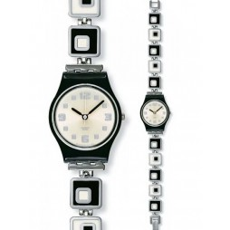 Swatch Ladies Chessboard Watch LB160G