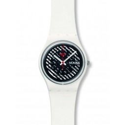 Swatch Ladies Off The Grill Strap Watch GW704