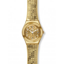 Swatch Ladies Dance Floor Strap Watch YSG135