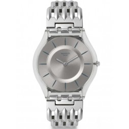 Swatch Ladies Furious Steel Bracelet Watch SFK396G