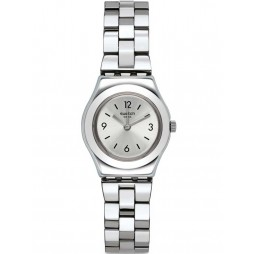 Swatch Ladies Grandino Stainless Steel Bracelet Watch YSSS300G