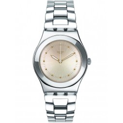 Swatch Ladies Puntagialla Bracelet Watch YLS197G