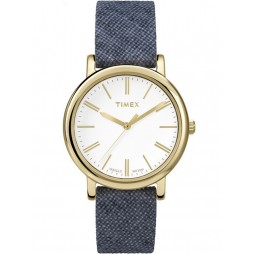 Timex Originals Ladies Blue Fabric Watch TW2P63800