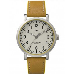 Timex Originals Mens Brown Leather Watch T2P505