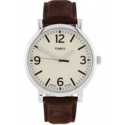Timex Originals Unisex Brown Leather watch T2P526