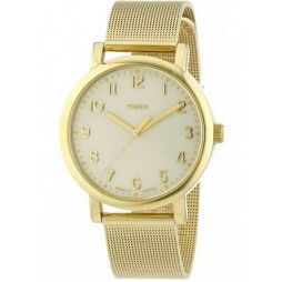 Timex Originals Unisex Gold Mesh Bracelet Watch T2N598