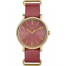 Timex Originals Ladies Gold Plated Strap Watch TW2P78200