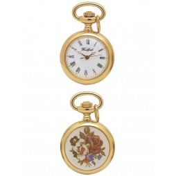 Woodford Gold Plated Pendant Flower Watch 1202