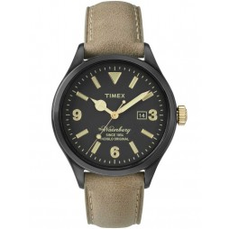Timex Waterbury Mens Tan Strap Watch TW2P74900