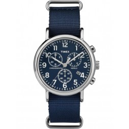 Timex Originals Mens Blue Chronograph Strap Watch TW2P71300