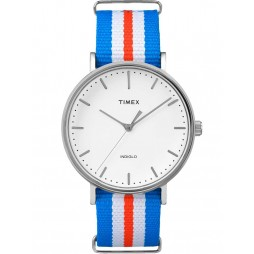 Timex Weekender Ladies Fabric Strap Watch TW2P91100